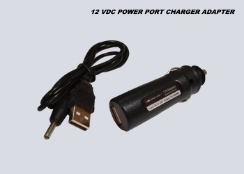 12VDC CAR PORT USB CHARGER ADAPTER