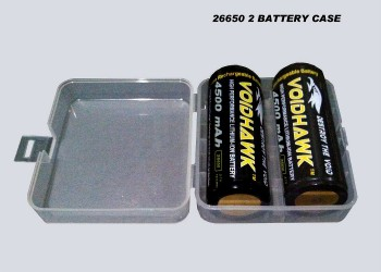26650 2X BATTERY CASE