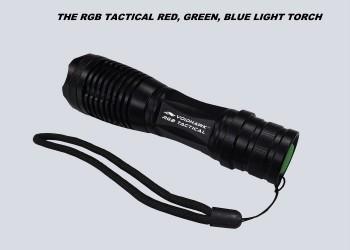 RGB TACTICAL FLASHLIGHT