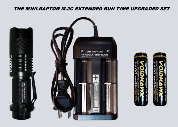 MINI-RAPTOR-M2C EXTENDED RUN TIME DELUXE SET