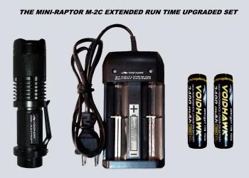 MINI-RAPTOR-M2C EXTENDED RUN TIME DELUXE SET