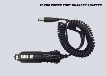 12VDC CAR PORT DUAL CHANNEL CHARGER ADAPTER