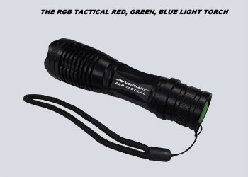 RGB TACTICAL FLASHLIGHT