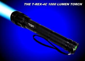 T-REX-4C 1000 Lumen Flashlight Special Offer -KC